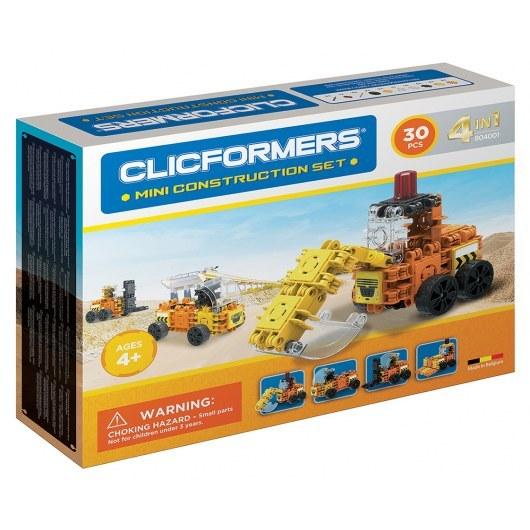 CLICFORMERS MINI CONSTRUCTION SET 4IN1 30 PCS