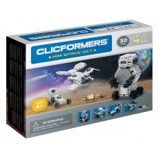 CLICFORMERS MINI SPACE SET 4IN1 30 PCS