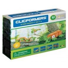 KLOCKI CLICFORMERS INSEKTY 4W1 30 ELEMENTÓW
