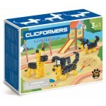 CLICFORMERS BRAVE FRIENDS SET 3IN1 74 PCS
