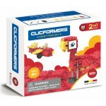 CLICFORMERS CRAFT SET RED 2W1 25 PCS