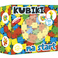 ABINO BLOCKS KUBIKI START SET 70 PCS