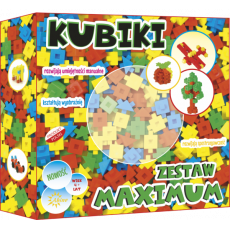 ABINO BLOCKS KUBIKI MAXIMUM SET 199 PCS