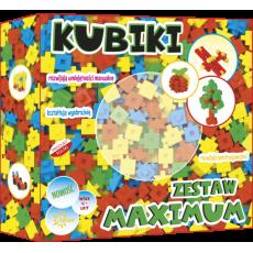 ABINO KLOCKI KUBIKI ZESTAW MAXIMUM 199 ELEMENTOW