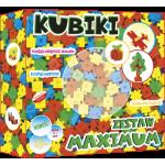 ABINO BLOCKS KUBIKI MAXIMUM SET 199 PCS
