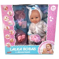 FUNCTIONAL BOBAS DOLL WITH ACCESSORIES - UNICORN 43 CM