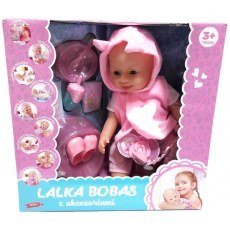 FUNCTIONAL BOBAS DOLL WITH ACCESSORIES 43 CM