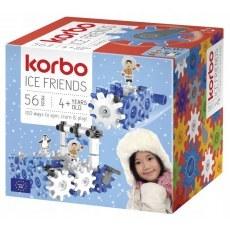 KLOCKI KONSTRUKCYJNE KORBO ICE FRIENDS 56