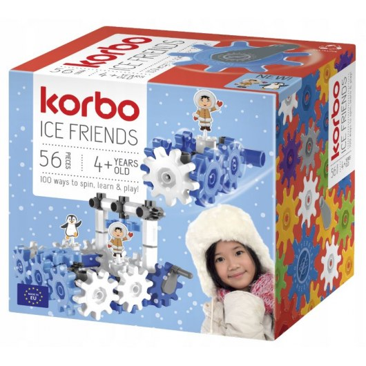 CONSTRUCTION BLOCKS KORBO ICE FRIENDS 56