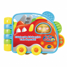 VTECH TUT TUT CAR EDUCATIONAL BOOK ALL THE FRONT 60825