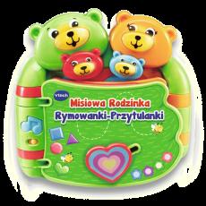 VTECH MISIOWA RODZINKA RYMOWANKI PRZYTULANKI 60993