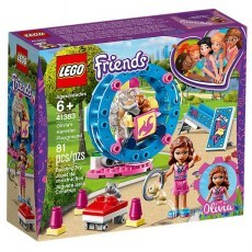 KLOCKI LEGO FRIENDS PLAC ZABAW DLA CHOMIKOW OLIVII 41383