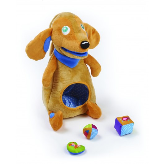 OOPS MY HUNGRY FRIEND ACTIVITY SOFT TOY WITH BLOCKS 11017.22