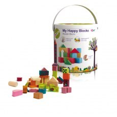 OOPS MY HAPPY BUILDING BLOCKS - WODDEN BLOCK 50 PCS 16001.00