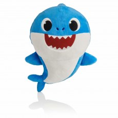 BABY SHARK SINGING MASCOT DADDY SHARK 30 CM
