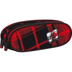 PENCIL CASE ST.RIGHT PU-02 MTV PLAID