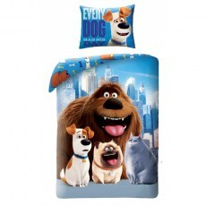 SINGLE DUVET SET 140 X 200 CM THE SECRET LIFE OF PETS 2 USP-012