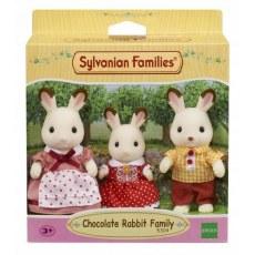 SYLVANIAN FAMILY CHOCOLATE RABBIT FAMILY 5304