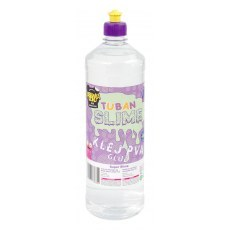 TUBAN BEZBARWNY KLEJ PVA DO SLIME 1000 ML