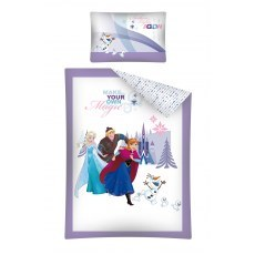BABY BEDDING SET 100 X 135 CM DISNEY FROZEN FRO16B