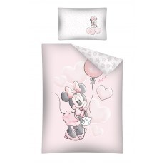 BABY BEDDING SET 100 X 135 CM DISNEY MIINNIE MOUSE STC39A