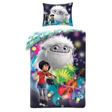 DOUBLE SIDED BEDDING SET 140 X 200 CM O YETI! ABOMINABLE ABO-8282BL