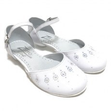 COMMUNION SHOES ZARRO 2338 D WHITE