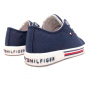 LOW CUT LACE-UP SNEAKER TOMMY HILFIGER BLUE 28-32