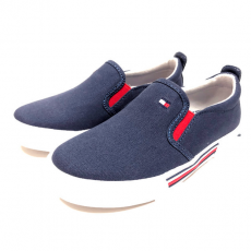 LOW CUT SNEAKER TOMMY HILFIGER BLUE 33-38