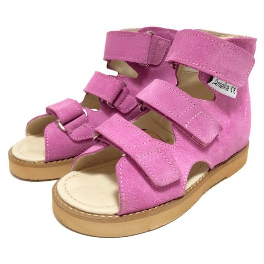 PREVENTIVE AND CORRECTIVE FOOTWEAR AMELKA 1010 PINK