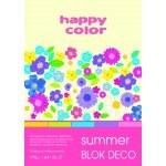 BLOCK A4 HAPPY COLOR DECO SUMMER 170G