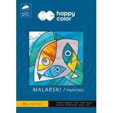 BLOK MALARSKI A3 HAPPY COLOR MLODY ARTYSTA 200G