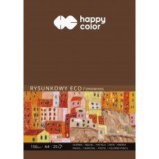 BLOK RYSUNKOWY ECO A4 HAPPY COLOR 150G