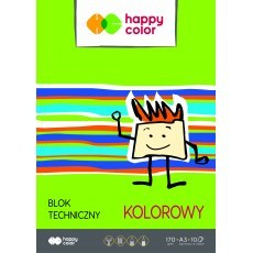 TECHNICAL BLOCK COLOR A3 HAPPY COLOR 170G