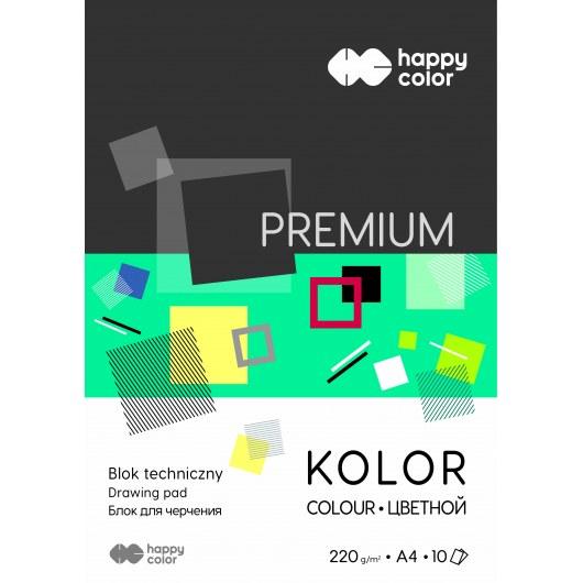 TECHNICAL BLOCK COLOR A4 HAPPY COLOR PREMIUM 220G