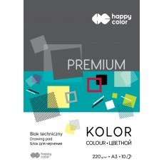 TECHNICAL BLOCK COLOR A3 HAPPY COLOR PREMIUM 220G