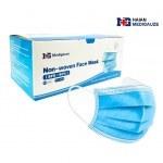 PROTECTIVE FACE MASK BLUE 50 PCS