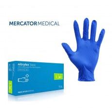 NITRILEX® BASIC DARK BLUE GLOVES - SIZE M - 100 PCS