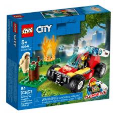 KLOCKI LEGO CITY POZAR LASU 60247