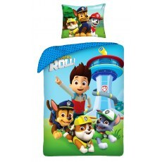SINGLE DUVET SET 140 X 200 CM PAW PATROL P-315BL