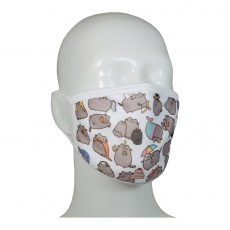FACE MASK 4PLY EAR LOOP ACTIVE SILVER IONS CATS MIX