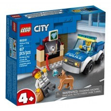 KLOCKI LEGO CITY ODDZIAL POLICYJNY Z PSEM 60241