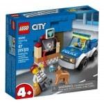 KLOCKI LEGO CITY ODDZIAŁ POLICYJNY Z PSEM 60241