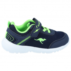 SHOES KANGAROOS KY-FLIGHT EV DK NAVY/LIME