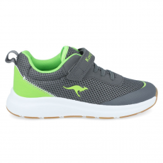 SHOES KANGAROOS KB-SURE EV DK KB-SURE EV STEEL GREY/NEON GREEN