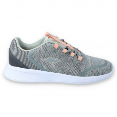 SHOES KANGAROOS KF-LOCK EV VAPOR GREY/DUSTY ROSE
