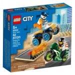 KLOCKI LEGO CITY EKIPA KASKADERÓW 60255