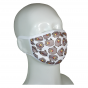 FACE MASK 4PLY EAR LOOP ACTIVE SILVER IONS CATS WITH POPCORN