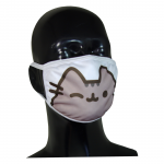 FACE MASK 4PLY EAR LOOP ACTIVE SILVER IONS CAT CLASSIC GRAY EYE