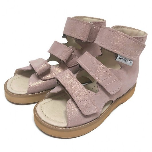 PREVENTIVE AND CORRECTIVE FOOTWEAR AMELKA 1010 POWDER PINK